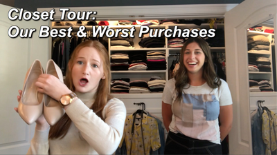 Closet Tour: Our Best & Worst Purchases