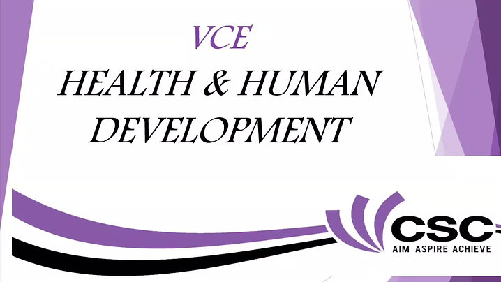 Health & Human Development