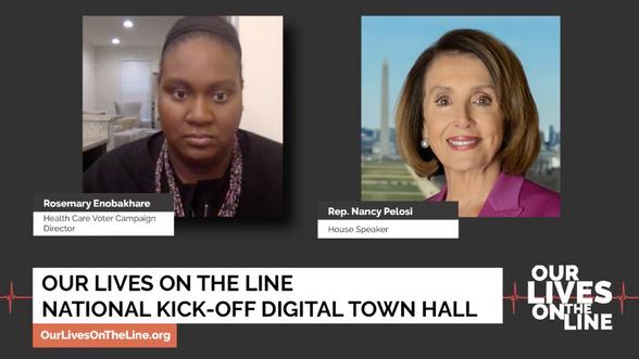 Nancy Pelosi Virtual Town Hall
