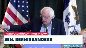 Bernie Sanders Campagin Trail Live
