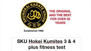 HOKEI KUMITE 3 & 4