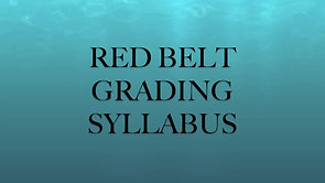 RED BELT SYLLABUS HD