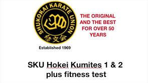 HOKEI KUMITE 1 & 2