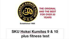 HOKEI KUMITE 9 & 10