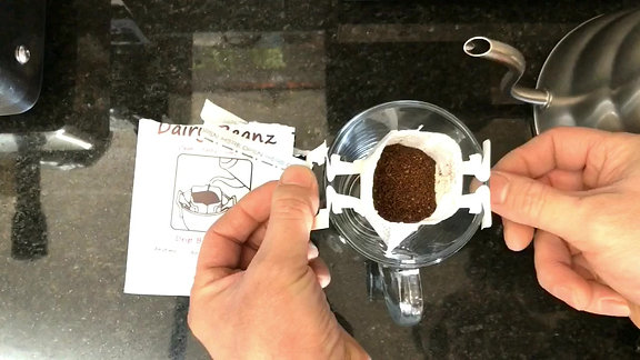 Drip Bag Coffee - Dairy Beanz