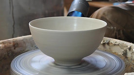 Very soft clay bowl