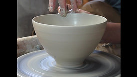 Very soft clay bowl (real time)
