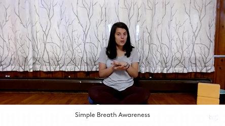 Simple Breath Awareness