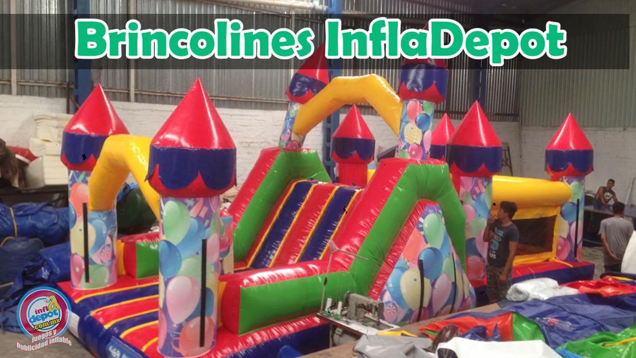 Fábrica de Brincolines, Toros Mecánicos y ¡más! infladepot.com.mx