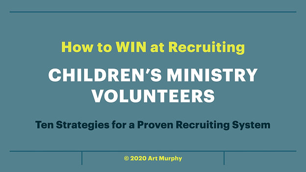 How to WIN at Recruiting Volunteers