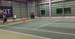 金沢インドアテニスクラブ上級クラス3