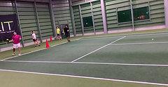 金沢インドアテニスクラブ上級クラス1