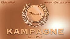 ElefantBAU Bronze Kampagne