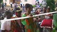 Inauguration de l'orphelinat