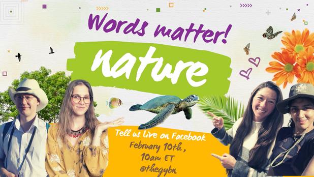 Words matter: Nature