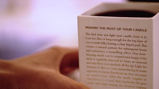Mauli Brand Video - Candle