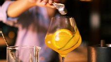 Grand Hyatt Kochi - Golden Tonic Mocktail