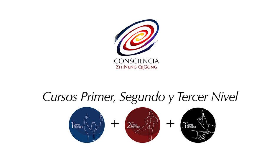 CURSOS PRIMER, SEGUNDO Y TERCER NIVEL