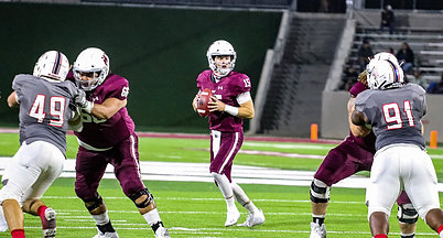 Nick Gerber has brought stability to the West Texas A&M QB position