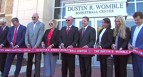 Texas Tech opened its state of the art Dustin R. Womble Basketball Center.
