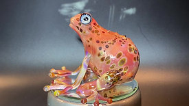 Hollow Frog Sculpture