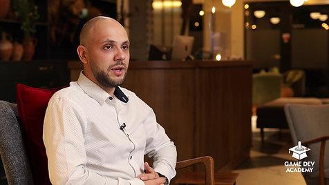 Andrei Sinc povesteste despre experienta la GameDev Academy!