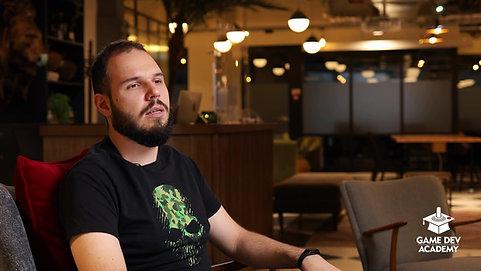 Alexandru Constantinescu povesteste despre experienta la GameDev Academy!