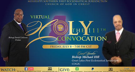 111th Holy Convocation _ Friday Night