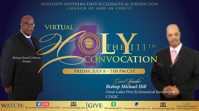 111th Holy Convocation _ Friday Night