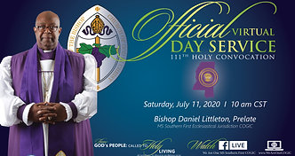 111th Holy Convocation Official Day
