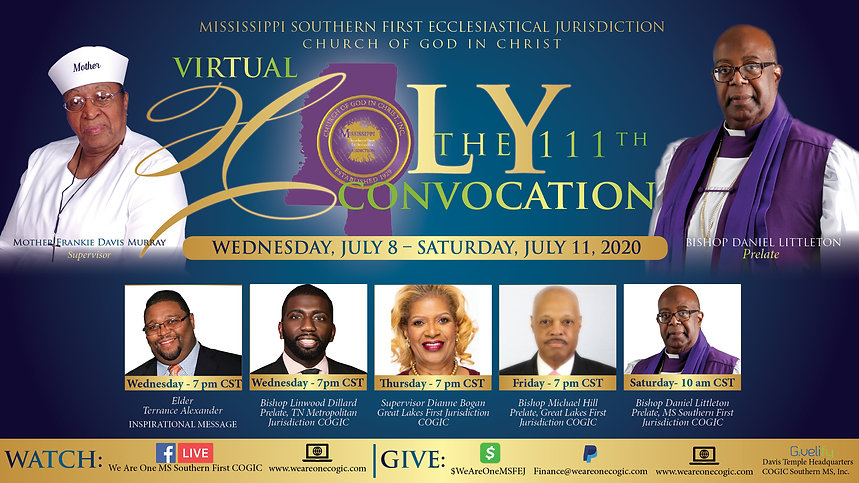111th Virtual Holy Convocation