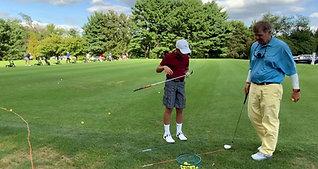 Jr. Golfer Sample Lesson