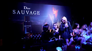 Launch of the parfum DIOR SAUVAGE
