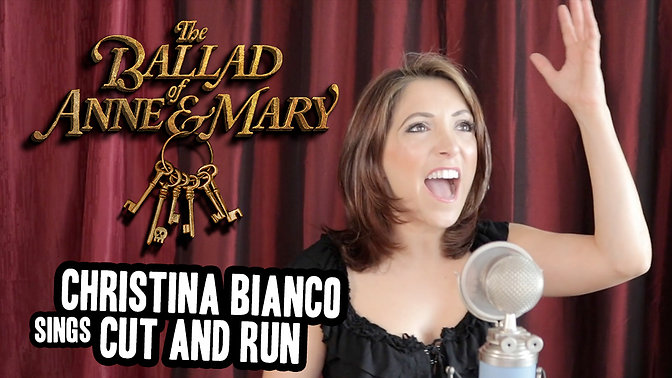 Christina Bianco sings Cut and Run