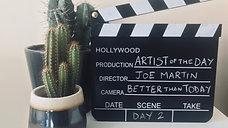 Joe Martin - Artist Of The Day - DAY 2