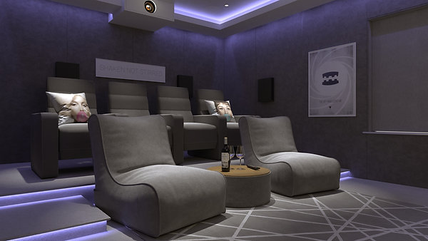 Playroom to Cinema Conversion