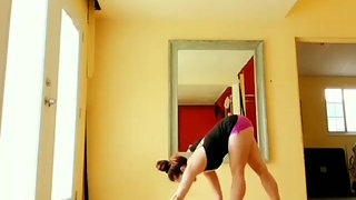 Stretch and Stand Handstand Pilates Flows