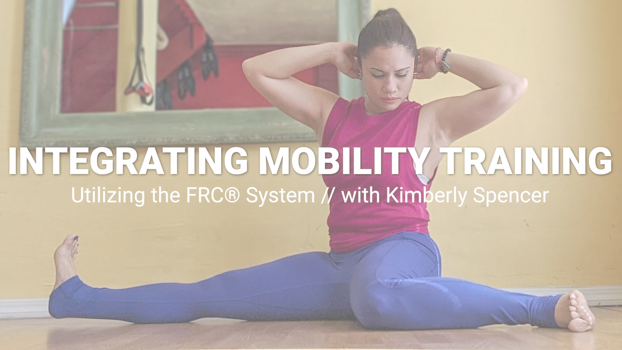 Integrating Mobility Training for Dancers