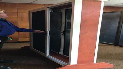Security Sliding Door