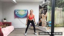 Zumba Toning Fri 6th Nov 20
