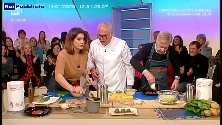 Erny Lombardo alla Prova del Cuoco