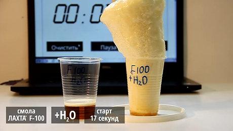 Механизм действия гидроактивной вспенивающейся смолы ЛАХТА® F-100
