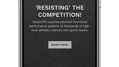 Vector Athlete IG Ad