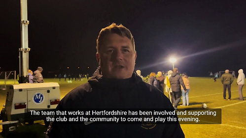 Ramadan Watford Tournament - Dean Russell MP