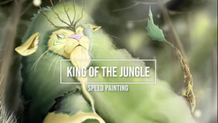 King of the Jungle - Speed Painting video