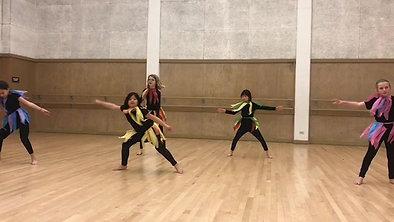 Junior Dance Company Fall 2018