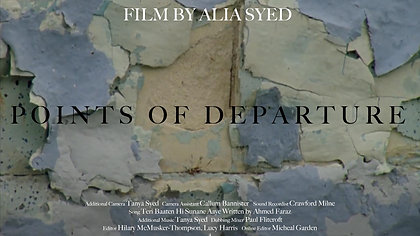 'Points of Departure' by Alia Syed