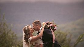 CATHERINE & TOM • CATSKILL MOUNTAINS WEDDING