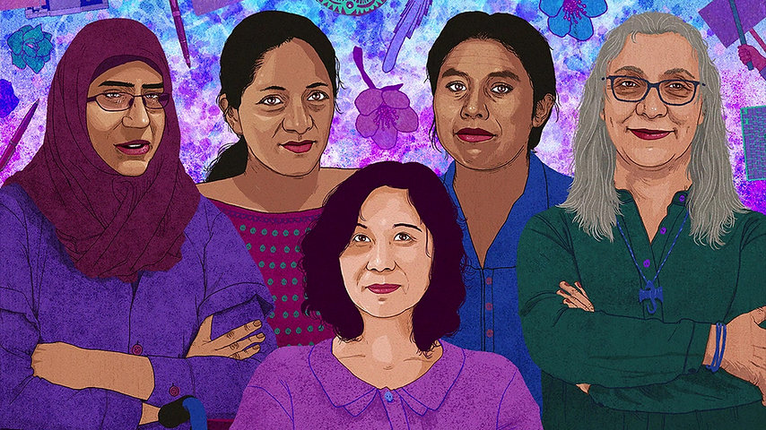 Write For Rights: Woman Rights Defenders Animation