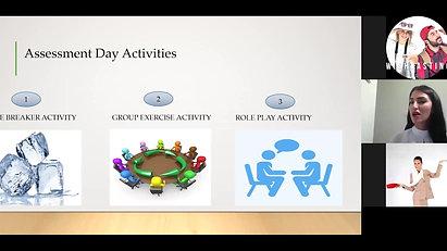 Assessment day webinar Part 1 - Theory